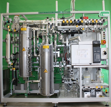 Combined fluidized bed and fixed bed reactor